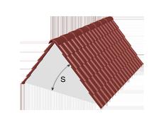 Sklon střechy